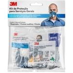 Kit Proteção Individual (audição, Visão, Respiração) - 3m