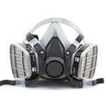 Mascara Respirador Semi-Facial para Pintura - 3M
