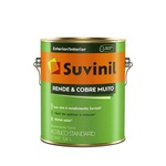 Tinta Acrílica Fosco Suvinil Rende Cobre Muito - 3,6L (Escolha Cor) *