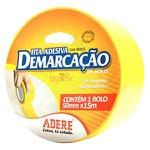 Fita Adesiva Amarela para Demarcação 50x15cm - Adere