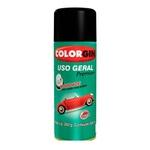 Spray 54001 Preto Fosco Liso 350ml - Colorgin