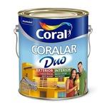 Tinta Acrílica Fosco Coralar Duo Coral 3,6L - (Escolha Cor)
