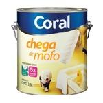 Tinta Acrílica Fosca Coral Interior Chega de Mofo 3,6L - Branco