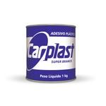 Adesivo Plastico Cinza com Catalisador 1kg Carplast - Maxi Rubber