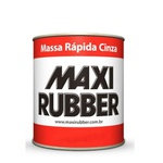 Massa Rápida Cinza 1,250kg - Maxi Rubber