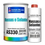 Adesivo Selante Carrocerias 400gr Kit com Catalisador