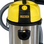 Aspirador de Pó e Água Inox 35L 1200W - LYNUS-APL-1200