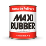 Massa de Polir N2 900ml - Maxi Rubber