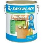 Verniz Semi brilho Incolor 3,6L Polideck - Sayerlack