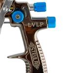 Pistola para Pintura LVLP 1,4mm 600ml com Válvula de Controle de Pressão - STEULA-BC80-14-VCP