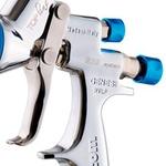 Pistola de Pintura Geo 1.3mm 680ml com Estojo e Manômetro WALCOM Ref: 933013