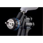 Pistola de Pintura Genesi Carbonio Geo 360 Bico 1.3 c/ manômetro digital Walcom - Ref: 993013