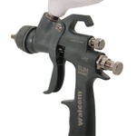 Pistola de pintura Walcom Slim Kombat HTE Bico 1.3 mm feita em Kevlar com maleta - HTE-803013 - Walcom