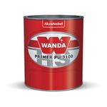 Fundo Primer PU 3100 900ml + Catalisador 3093 100ml - Wanda