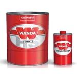 Verniz PU 4100 Kit + Catalisador 3093 - Wanda