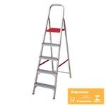 Escada Aluminio 5 degraus Botafogo