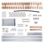 Kit Barramento Trifásico para 56 Disjuntores Din Ref. 904545 225A-Cemar