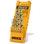 Jogo De Brocas Para Metal 2,0mm A 8,0mm Com 6 Peças-Ingco