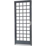 Porta Sasazaki de Abrir Belfort 217x87x6Cm 66.51.194-4 Quadriculada Abertura Direita