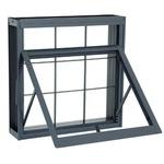 Janela De Abrir Maxim-Ar Silenfort 60X80X8Cm Grade Quadriculada-Sasazaki