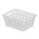 Caixa Organizadora Squares 1 18,5x14x8cm Transparente-Arthi