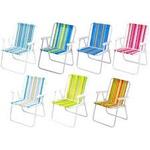 Cadeira Alta Aço Cores Sortidas-Mor