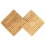 Apoio Para Panela Bamboo com 2 Peças-Mor