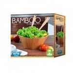 Conjunto De Saladeiras Bamboo Com 3 Peças-Mor
