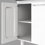 Gabinete Para Cozinha em Aço Apolo Flat 1,20 Metros Branco-Cozimax