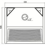 Tanque Inox Sobrepor 32 Litros-Ghelplus