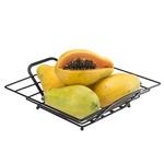Fruteira De Mesa Quadrada Black-Arthi