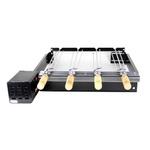 Grill Giratório Platinum Baixo Para 4 Espetos E-4T-ArtGrill