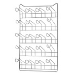 Porta Copos Parede Cromado Para 20 Copos-Arthi