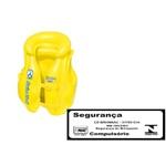Colete Inflável Infantil Premium Amarelo-Mor