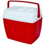 Caixa Térmica 34 Litros Vermelha-Mor