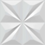 Revestimento Ceral Decor Diamante 20x20Cm Branco
