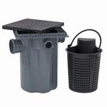 Caixa de Gordura com Cesto de Limpeza e Tampa Tigre