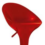 Kit 2 Banquetas Lotus Com Encosto Vermelha-Mor