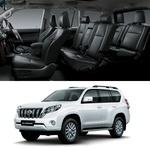 Revestimento Banco de Couro Toyota Cruiser Prado 7 Lugares