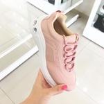 Tênis Feminino Zatz Fosco Sneaker Rosa