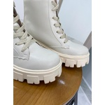 Coturno Feminino Cano Médio Crshoes off white