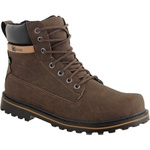 Coturno casual masculino CRshoes Chocolate