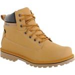 Coturno casual masculino CRshoes amarelo