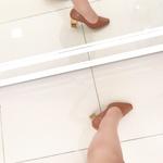Scarpan Feminino Camminare Salto Grosso Salto Acrílico Caramelo