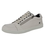 Sapatenis Masculino Casual CRshoes Couro Gelo