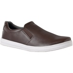Slip Masculino CRshoes Elastico laterial Cafe