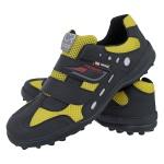 Sapatilha Bike Adventure Velcro Crshoes Amarelo