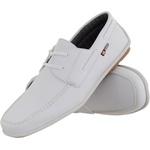 Mocassim masculino CRshoes branco