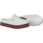 Mule Maresias Plataforma CRShoes - Branco Solado Vermelha