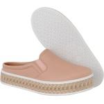 Mule Maresias Plataforma CRShoes - Nude Solado Juta